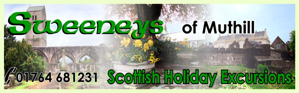 Scottish Holiday Excursions with Minibus Hire from Sweeneys of Muthill