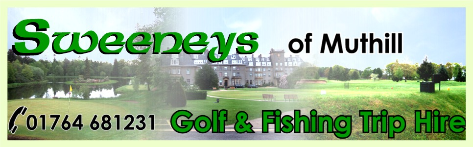 Golf & Fishing Trip Minibus Hire from Sweeneys of Muthill